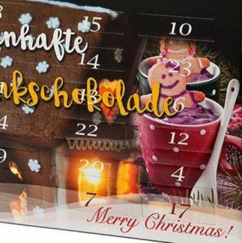 Trinkschokolade-Adventskalender 2016 mit Rabatt und Gratis-Versand